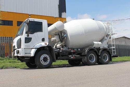 cargo 2629 2013 6x4 betoneira 8m = mb vw volvo iveco volks