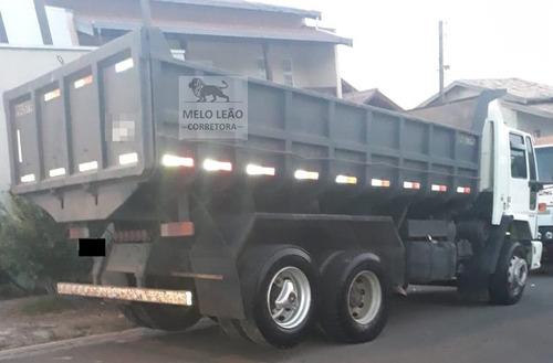 cargo 4532 - 07/07 - truck, caçamba 10m³, impecável