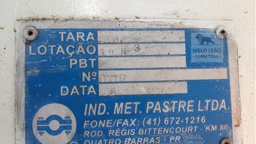 cargo 5032 e - 07/07 - traçado 6x4, caçamba pastre 10m³ 2002