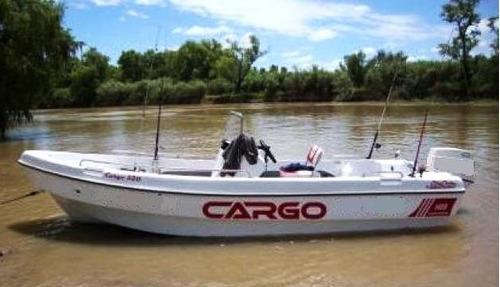 cargo 520 open.   solo casco