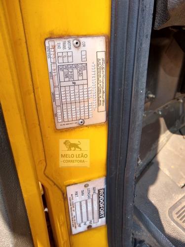 cargo 816 - 13/13 - baú de alumínio c/ plataforma dhollandia