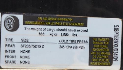 cargo trailer nuevo o km pace american - usa