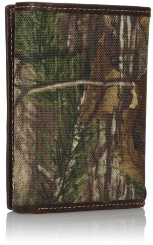 carhartt real tree rfid blocking trifold, camo, un tamaño