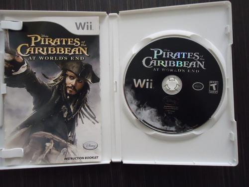 caribe wii piratas del