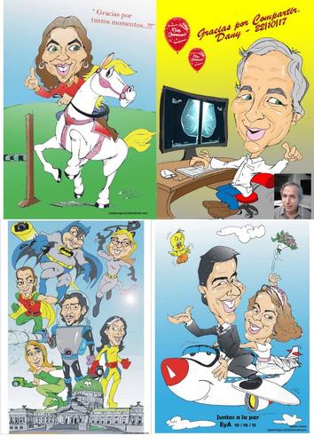 caricaturas en eventos, fiestas, shows, animacion, dibujante