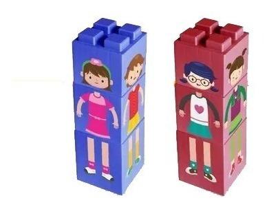 caricaturas niños para armar - ladrillos gigantes