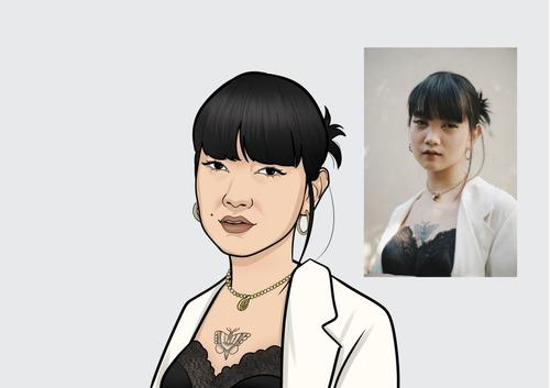 caricaturas personalizadas estilo cartoon