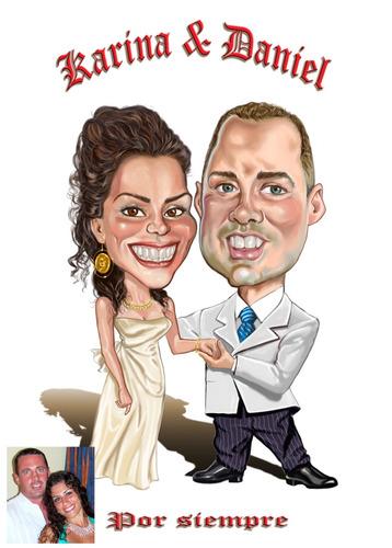 caricaturas y retratos para fiestas privadas y empresariales