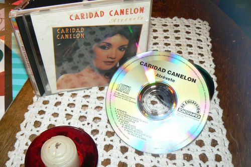 caridad canelon atrevete  * cd solo joyas coleccion  201