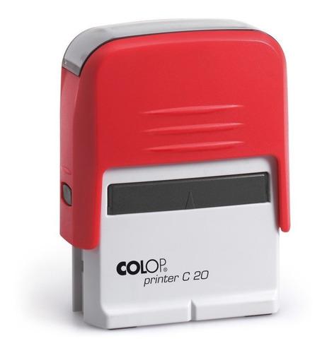 carimbo automático compacto colop c10 ou c20