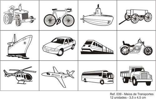 carimbo meios de transportes - 39