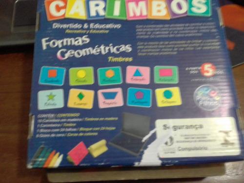 carimbos formas geométricas - 10 carimbos