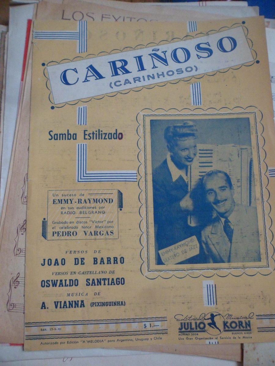 Carinhoso De J Barro Y A Vianna Samba Partitura