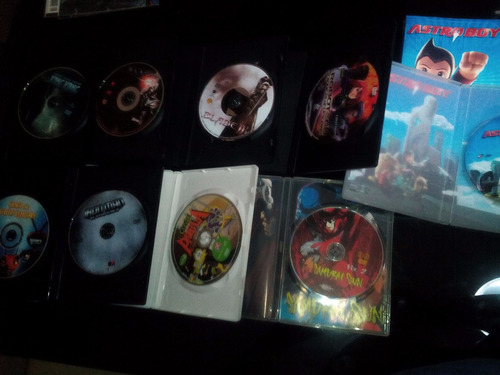 caris, pelis accion y anime $30 cada uno dvds originales