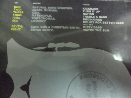 carl cox cd global