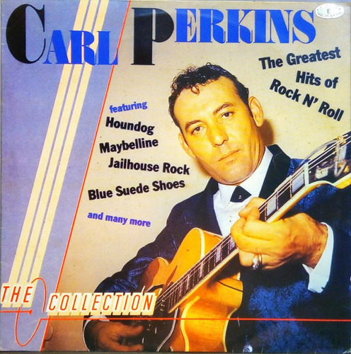 carl perkins lp 1987 the collection rock n roll 11838