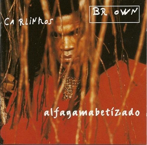 carlinhos brown  alfagamabetizado cd import impecable 1996
