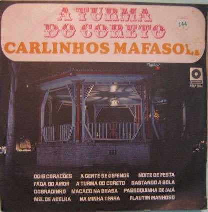 carlinhos mafasoli  -  a turma do coreto - prlp-1034 - 1968