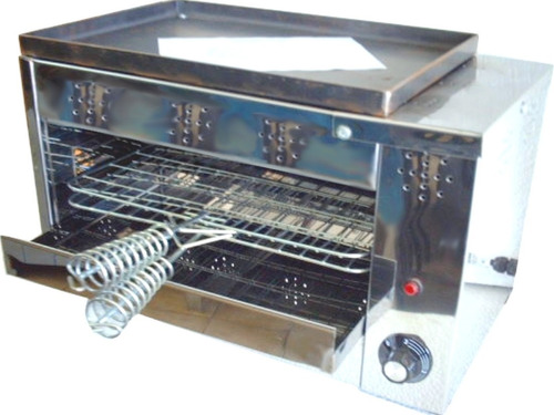 carlitero hamburguesero eléctrico tostador grill bifera