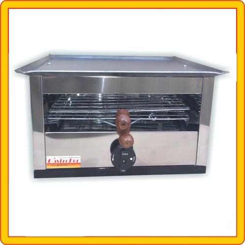carlitero simple con plancha y tostador a gas