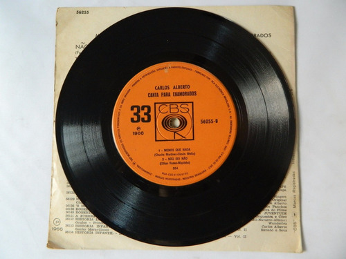 carlos aberto - 1966 - canta para enamorados - compacto ep12