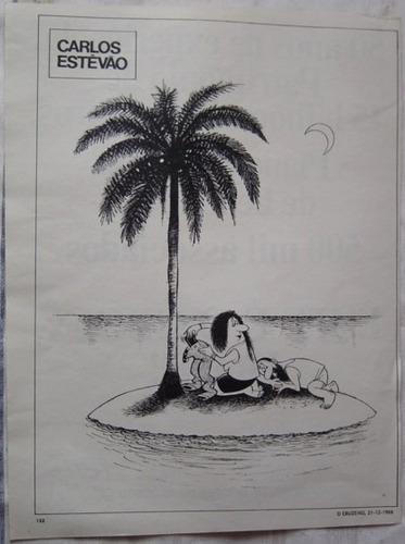 carlos estevão - ano de 1968  - publicação o cruzeiro.