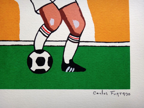 carlos furtado - são paulo futebol clube - ganso -serigrafia
