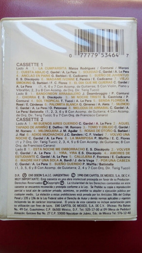 carlos gardel, 100 años, 2 cassettes, envio gratis