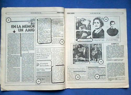 carlos gardel. documentos para la historia