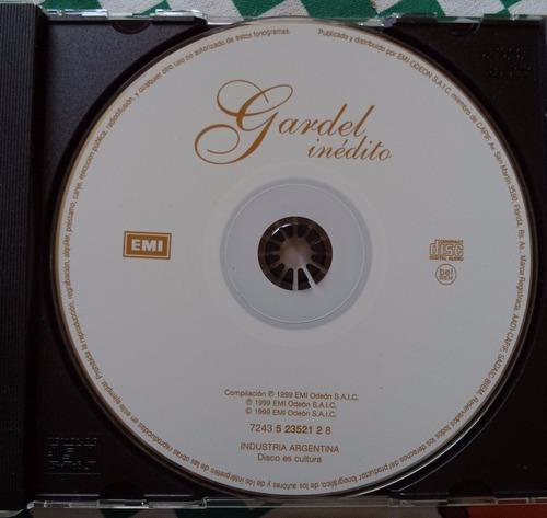 carlos gardel inédito cd original