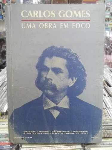 carlos gomes biografia uma obra em foco livro bom estado