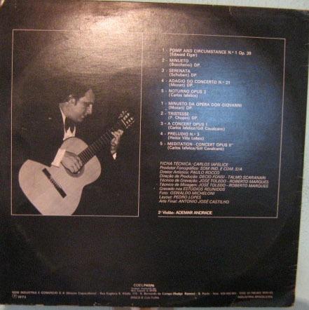 carlos iafelice - a concert - 1975