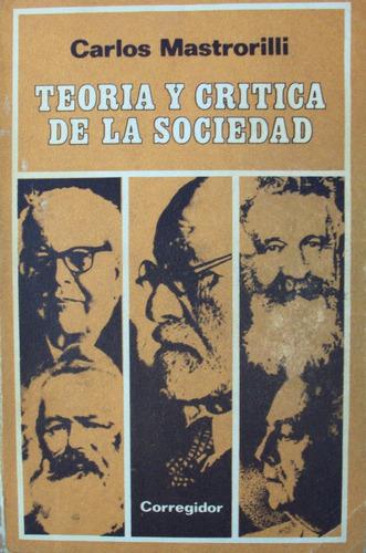 carlos mastrorilli - teoria y critica de la sociedad