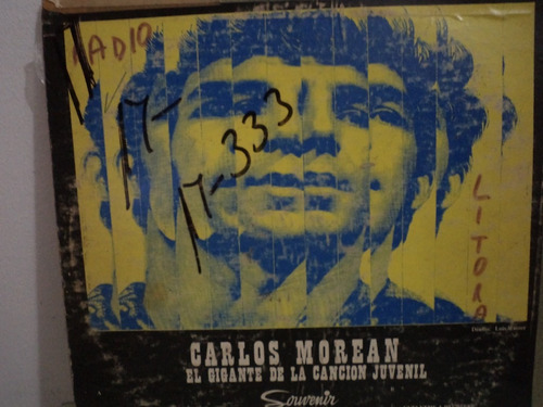 carlos morean - el gigante de la cancion juvenil -   lp
