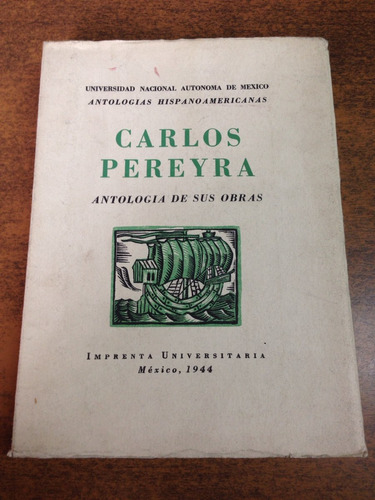 carlos pereyra antología de sus obras