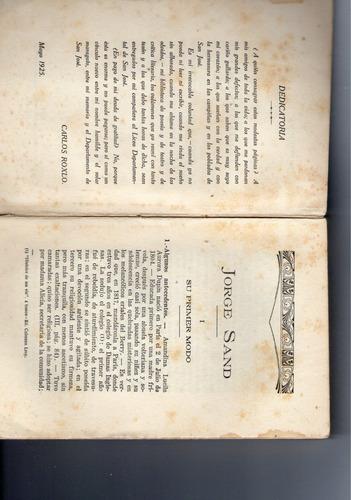 carlos roxlo jorge sand y la novela de costumbres