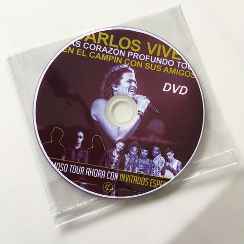 carlos vives y sus amigos en vivo dvd+cd