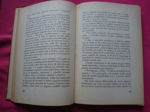 carlota emperatriz de mejico - nancy barnes - peuser 1945