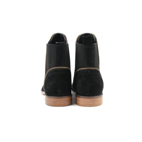 carlton london clara de las se¿oras de negro de gamuza bota