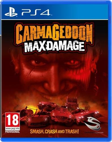 carmageddon max damage ps4 lacrado