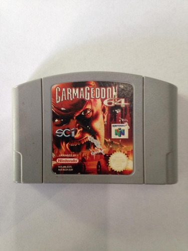 carmageddon64 nintendo 64