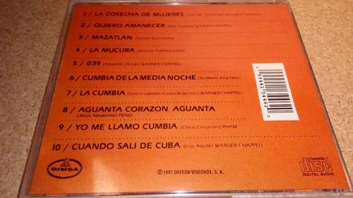 carmen rivero cd época de oro de la cumbia vol. 2, excelente