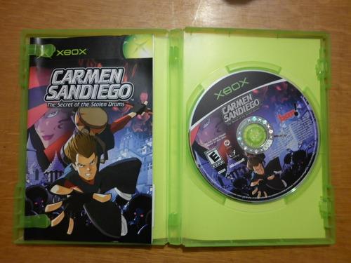 carmen sandiego para x-box