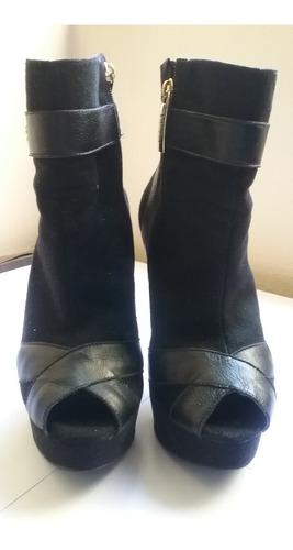 carmen steffens zapatos negros 37