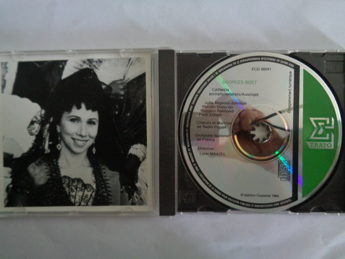 carmen trilha sonora cd importado