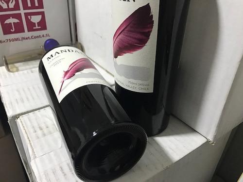 carmenere 2015 saldo exportacion 6 botellas x 750