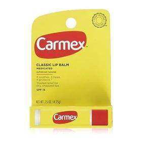 Carmex Bálsamo Labial En Barra 0.15 Oz