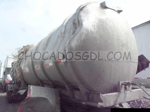 carmex tanque 2011. acero inox. cap. 31,000 lts para reparar