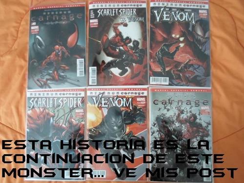 carnage /carnage usa increible!!! saga marvel now comics