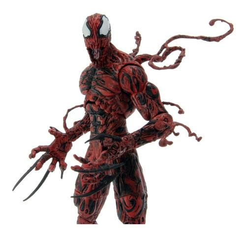 carnage carnificina - homem aranha marvel select ds-18008